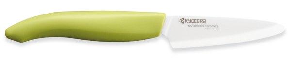 Kräuter- und Schälmesser grün - Keramikmesser