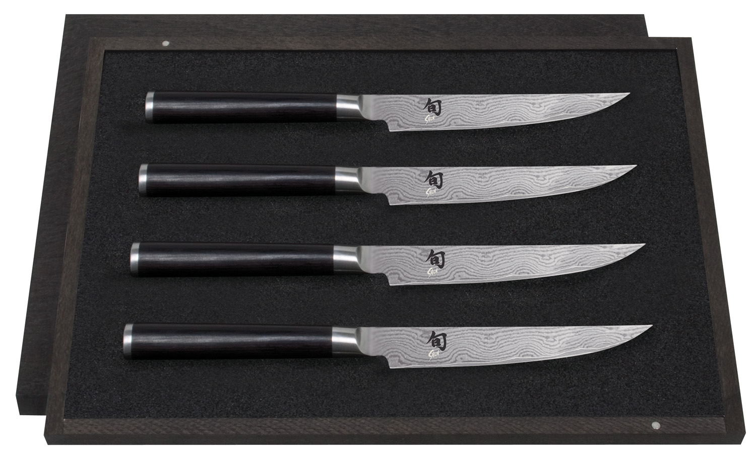 kai shun steakmesser set dms 400 chef. Black Bedroom Furniture Sets. Home Design Ideas