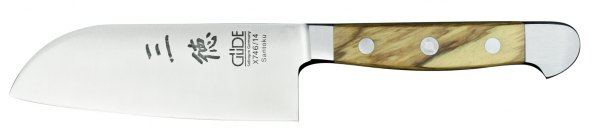 Güde Alpha Olive Santoku - 14 cm
