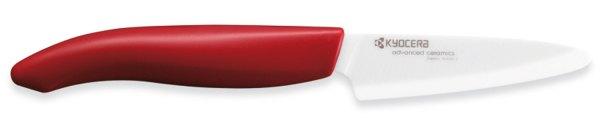 Kräuter- und Schälmesser rot - Keramikmesser