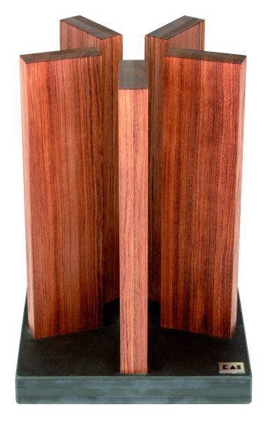 Magnet-Messerblock Stonehenge - Red Wood unbestückt
