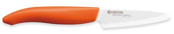 Kräuter- und Schälmesser orange - Keramikmesser